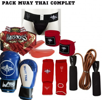 PACK COMPLET MUAY THAI